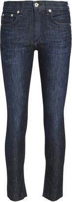 Rag & Bone Ankle Dark Skinny Jeans