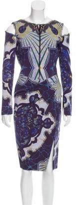 Emilio Pucci Printed Wool Dress w/ Tags