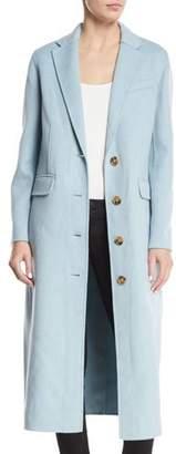 Elizabeth and James Russel Long Wool Pea Coat
