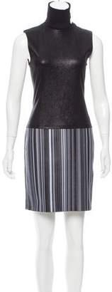 Edun Leather Mini Dress w/ Tags