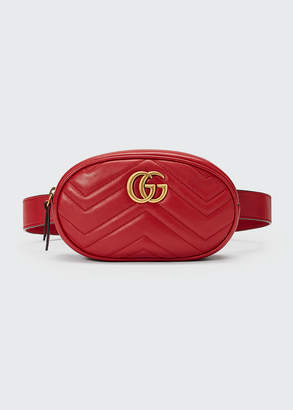 Gucci GG Marmont Small Quilted Leather Belt Bag