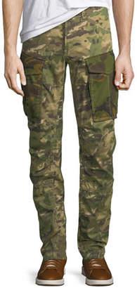 G Star G-Star Rovic Mix 3D Zip Cargo Pants, Green