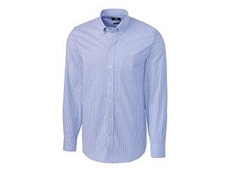 Cutter & Buck Men's Wrinkle Resistant Tailored Fit Long Sleeve Button Down Shirt