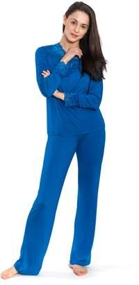 Jones New York Women's 2PC Long Sleeve Top & Pant Set
