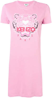 Kenzo Bleached Tiger T-shirt dress