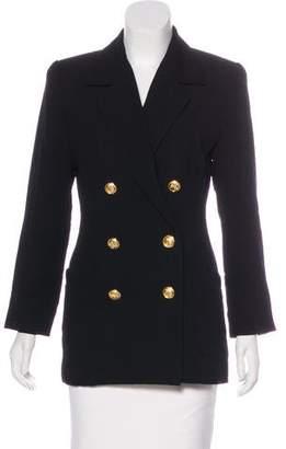 Ellen Tracy Linda Allard Wool Button-Up Blazer