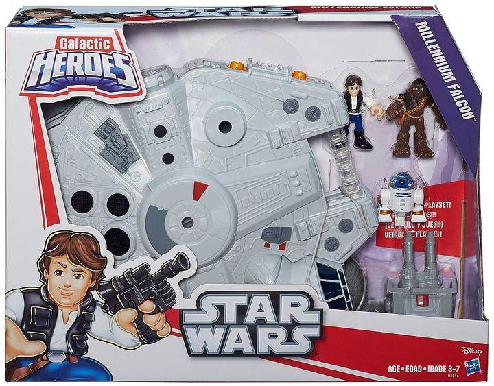 Playskool Star Wars Galactic Heroes Millennium Falcon & Figures Set by Playskool