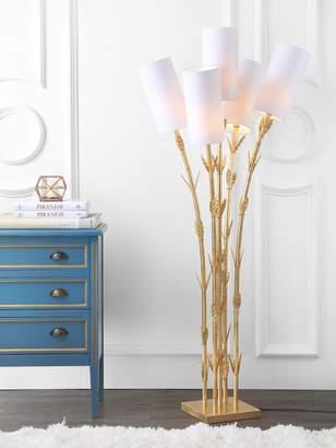JONATHAN Y Bamboo 5-Light Floor Lamp