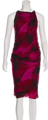 Gucci Silk Midi Dress