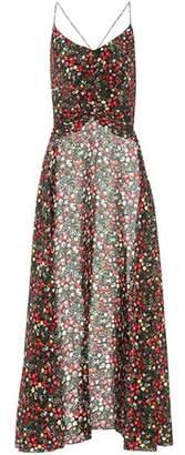 Caroline Constas Cape floral-printed silk tank top