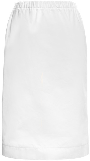 Marni Preorder Diamante Cotton Gabardine Pencil Skirt