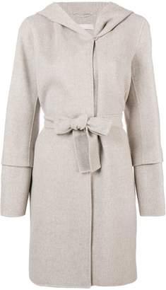 Max Mara 'S hooded midi coat
