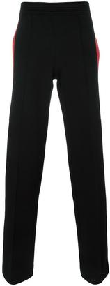 Givenchy side stripe track pants $990 thestylecure.com