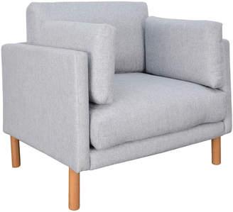Ash Harper & Hindley Dende Upholstered Wood Armchair