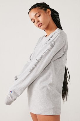 Champion + UO Reflective Long Sleeve Tee $39 thestylecure.com
