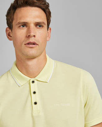 Ted Baker BLOKO Pique polo shirt