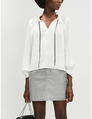 Zadig & Voltaire Theresa satin blouse