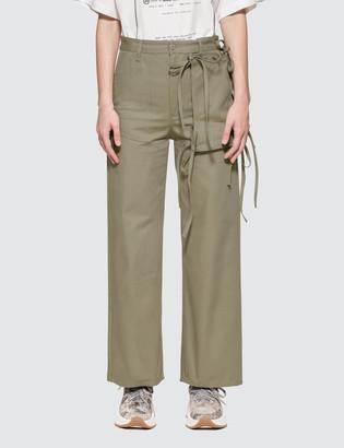MM6 MAISON MARGIELA Tie Details Trousers