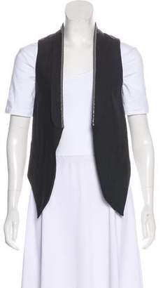 Brunello Cucinelli Virgin Wool Embellished Vest