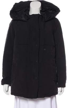 The Kooples Short Hooded Coat