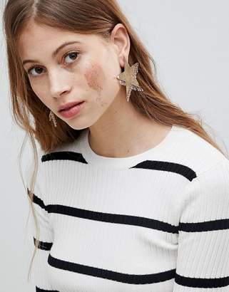 Bershka Star Earring