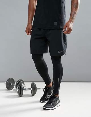 Nike Training Flex Vent Shorts In Black 833370-010
