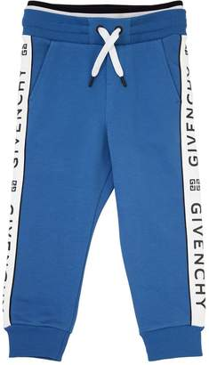 Givenchy Logo Printed Cotton Sweatpants