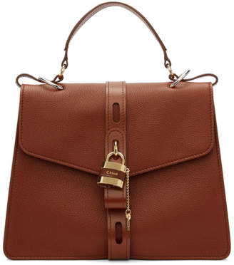 Brown Large Day Briefcase