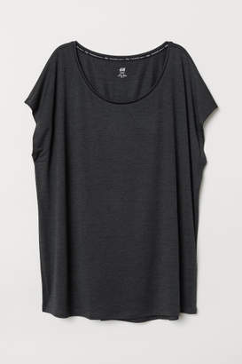 H&M H&M+ Sports Top - Black