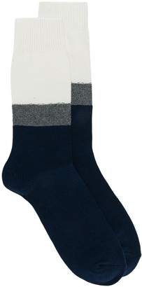 Necessary Anywhere colour block socks