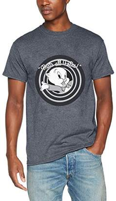 Mens Looney Tunes Thats All All Folks Porky Pig T-Shirt Brands In Limited Factory Sale uT7vg
