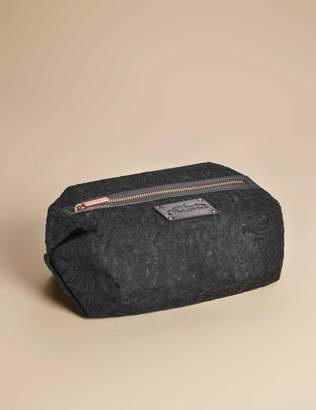 Agent Provocateur Large Lace Cosmetic Bag Black