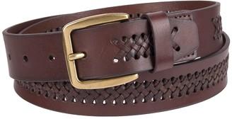 Chaps Men's Braided Belt