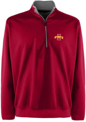 Antigua Men's Iowa State Cyclones 1/4-Zip Leader Pullover