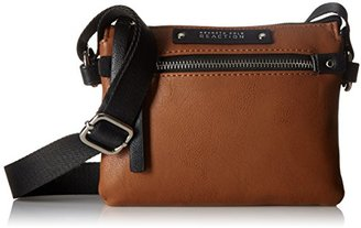 Kenneth Cole Reaction Bondi Girl Top Zip Cross Body Bag $29.40 thestylecure.com