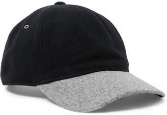 bd4f2987940 J.Crew Two-Tone Melton Wool-Blend Baseball Cap