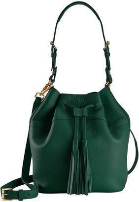 GiGi New York Leather Jenn Bucket Bag
