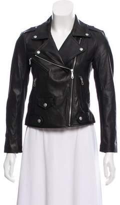 Rebecca Minkoff Paneled Leather Jacket w/ Tags