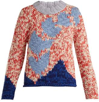 Burberry Intarsia-knit sweater