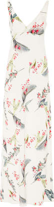 Cacharel Printed Silk Maxi Dress