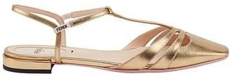 Fendi strappy t-bar sandals