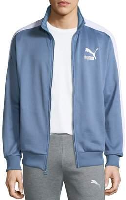 Puma Men's Archive T7 Track Jacket, Light Blue