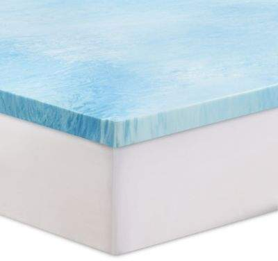 3-Inch Gel Swirl Memory Foam Twin Mattress Topper