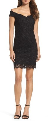 Women's Bardot Tara Off The Shoulder Lace Dress $129 thestylecure.com