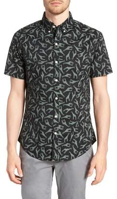 Bonobos Riviera Slim Fit Giraffe Print Sport Shirt
