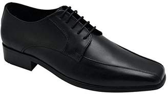 Wizfort Mens Leather Sole Shoes for Men
