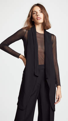 Alexander Wang Draped Twill Vest