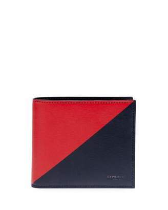 Givenchy Men's Triangle-Print Bifold Wallet