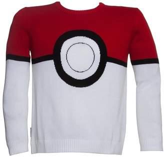 Mighty Fine Mens Pokemon Pokeball Sweater
