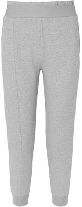 adidas by Stella McCartney Essentials French Cotton-blend Terry Track Pants - Gray